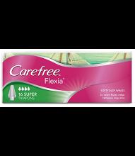 CAREFREE® FLEXIA® Super Tampons